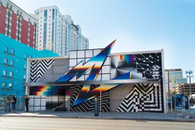 Felipe Pantone Life Is Beautiful Festival Las Vegas